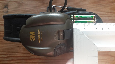 batterier 3m høreværn størrelse